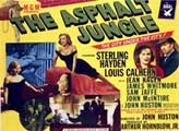 The Asphalt Jungle - 22 x 28 Movie Poster - Half Sheet Style C