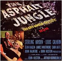 The Asphalt Jungle - 11 x 17 Movie Poster - Style B