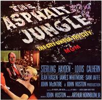 The Asphalt Jungle - 27 x 40 Movie Poster - Style B