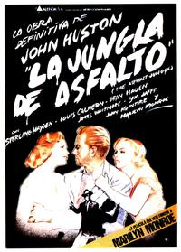 The Asphalt Jungle - 27 x 40 Movie Poster - Spanish Style D