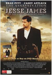 The Assassination of Jesse James by the Coward Robert Ford - 27 x 40 Movie Poster - Australian Style A