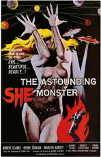 The Astounding She-Monster - 11 x 17 Movie Poster - Style A
