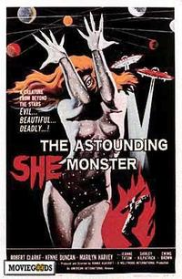 The Astounding She-Monster - 43 x 62 Movie Poster - Bus Shelter Style A