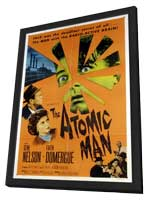The Atomic Man - 11 x 17 Movie Poster - Style A - in Deluxe Wood Frame