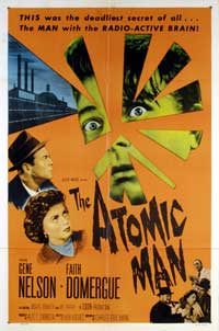 The Atomic Man - 27 x 40 Movie Poster - Style A