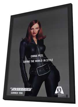 The Avengers - 11 x 17 Movie Poster - Style B - in Deluxe Wood Frame