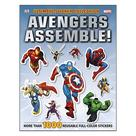 The Avengers - Marvel Assemble Ultimate Sicker Collection Book