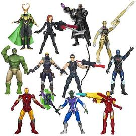 The Avengers - Movie Action Figures Wave 4 Revision 1