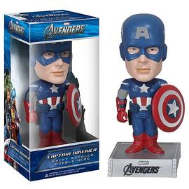 The Avengers - Movie Captain America Bobble Head
