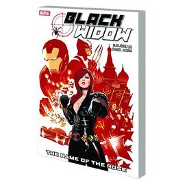 The Avengers - Black Widow Name Of Rose Graphic Novel