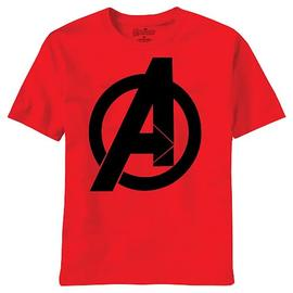The Avengers - Movie Bold Logo Red T-Shirt