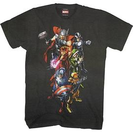 The Avengers - Uncanny Black T-Shirt