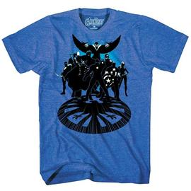 The Avengers - Get Suited Blue Heather T-Shirt
