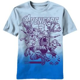 The Avengers - Impakted Blue T-Shirt