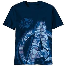 The Avengers - Top Secret Squad Blue T-Shirt