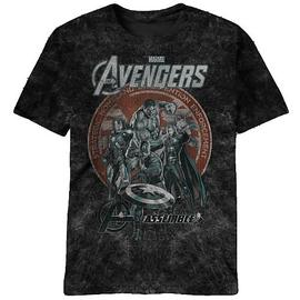 The Avengers - Bottle Co. Black T-Shirt