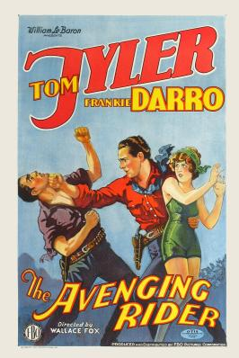 The Avenging Rider - 11 x 17 Movie Poster - Style A
