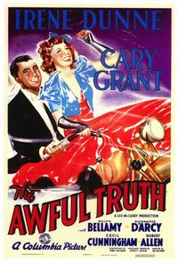 The Awful Truth - 27 x 40 Movie Poster - Style A