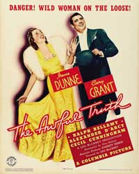 The Awful Truth - 27 x 40 Movie Poster - Style B