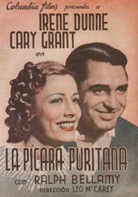 The Awful Truth - 27 x 40 Movie Poster - Spanish Style A