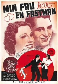 The Awful Truth - 27 x 40 Movie Poster - Swedish Style A