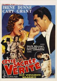 The Awful Truth - 11 x 17 Movie Poster - Belgian Style A