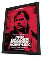 The Baader Meinhof Complex - 27 x 40 Movie Poster - German Style C - in Deluxe Wood Frame
