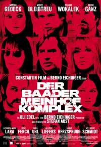 The Baader Meinhof Complex - 11 x 17 Movie Poster - German Style E