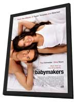 The Babymakers - 27 x 40 Movie Poster - Style A - in Deluxe Wood Frame