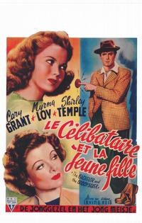 The Bachelor and the Bobby-Soxer - 11 x 17 Movie Poster - Belgian Style A