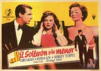 The Bachelor and the Bobby-Soxer - 11 x 17 Movie Poster - Spanish Style A