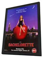 The Bachelorette - 11 x 17 TV Poster - Style A - in Deluxe Wood Frame