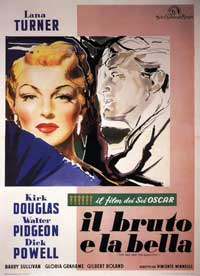 The Bad and the Beautiful - 11 x 17 Movie Poster - Italian Style B