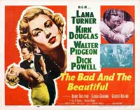 The Bad and the Beautiful - 22 x 28 Movie Poster - Half Sheet Style A