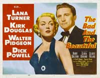 The Bad and the Beautiful - 22 x 28 Movie Poster - Half Sheet Style B