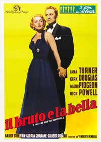 The Bad and the Beautiful - 11 x 17 Movie Poster - Italian Style C