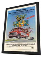 The Bad News Bears/The Bad News Bears in Breaking Training - 11 x 17 Movie Poster - Style A - in Deluxe Wood Frame