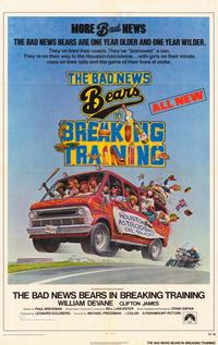 The Bad News Bears/The Bad News Bears in Breaking Training - 11 x 17 Movie Poster - Style A