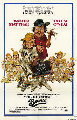 The Bad News Bears - 11 x 17 Movie Poster - Style A