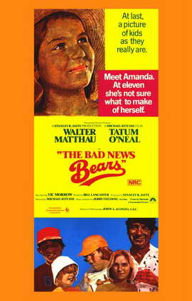 The Bad News Bears - 11 x 17 Movie Poster - Style B