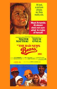 The Bad News Bears - 27 x 40 Movie Poster - Style B