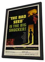 The Bad Seed - 27 x 40 Movie Poster - Style A - in Deluxe Wood Frame