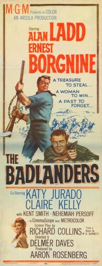 The Badlanders - 11 x 17 Movie Poster - Style A