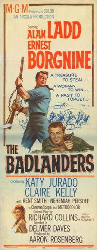 The Badlanders - 14 x 36 Movie Poster - Insert Style A