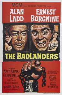 The Badlanders - 27 x 40 Movie Poster - Style B