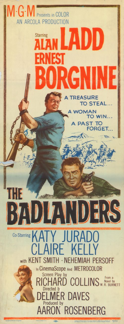 The Badlanders movie