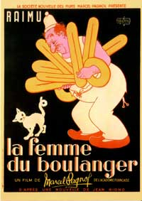 The Baker's Wife - 11 x 17 Movie Poster - French Style A