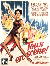 The Band Wagon - 11 x 17 Movie Poster - French Style A
