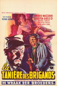 The Bandit of Tacca Del Lupo - 11 x 17 Movie Poster - Belgian Style A