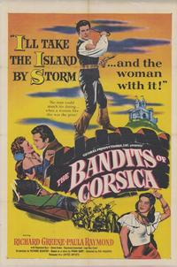 The Bandits of Corsica - 43 x 62 Movie Poster - Bus Shelter Style A
